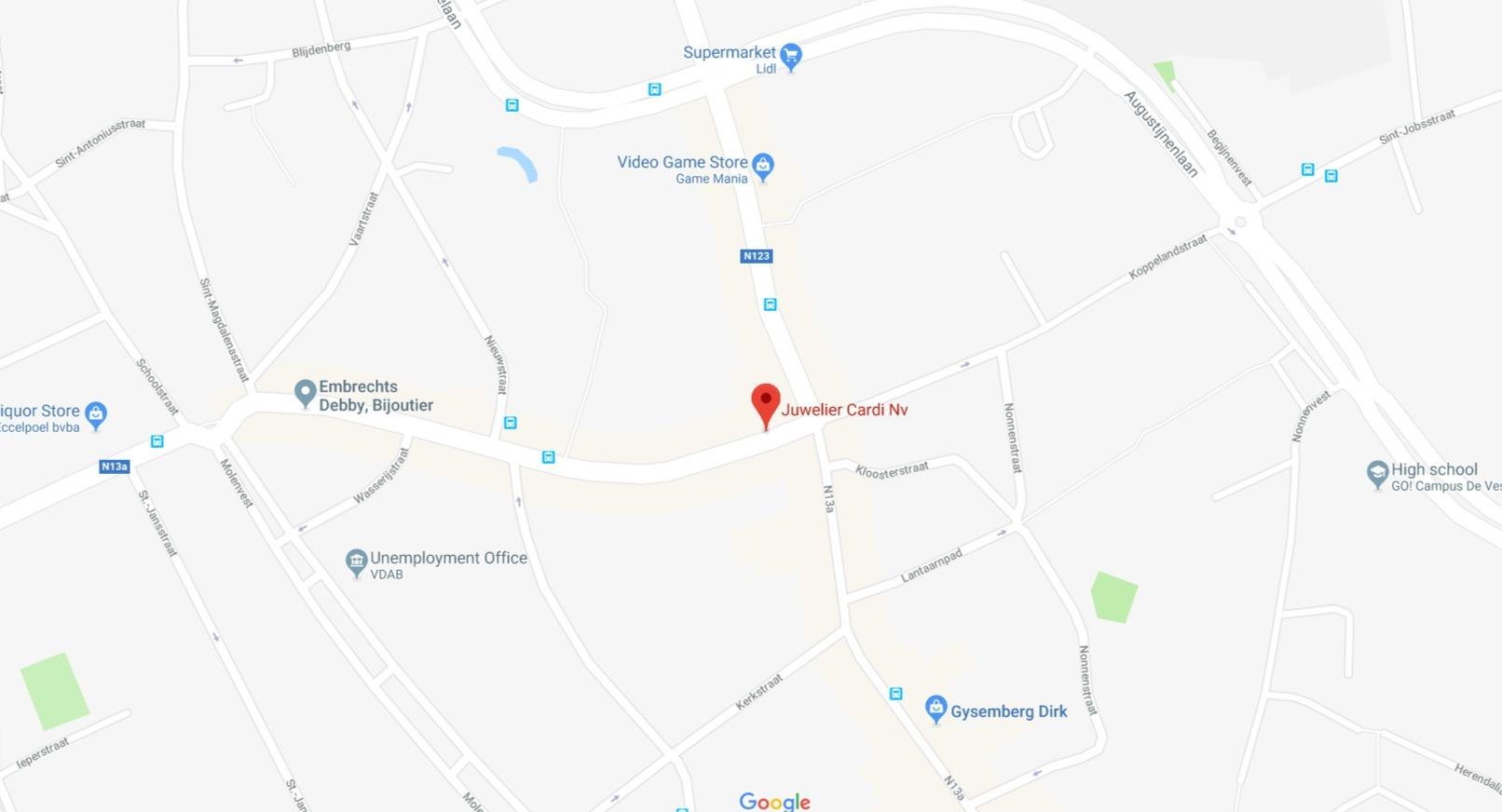 Juwelier Cardi Nv Google Maps (1)