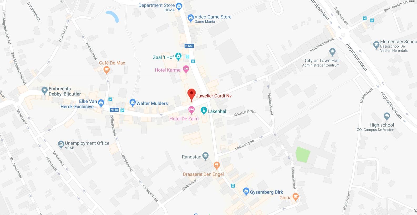 Juwelier Cardi Nv Google Maps